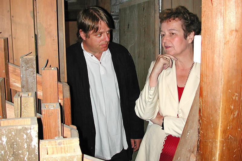 Kristian Wegscheider und Herta Däubler-Gmelin